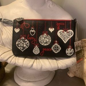 Brighton Love Notes Wristlet Pouch NWT